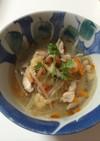酸っぱ辛いタイ風スープ