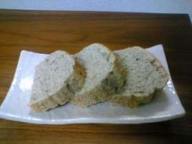 豆と雑穀のケーキ