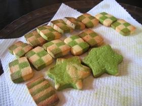 市松クッキー