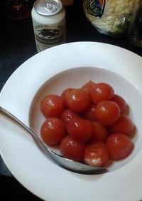 塩と蜂蜜だけでトマト漬け