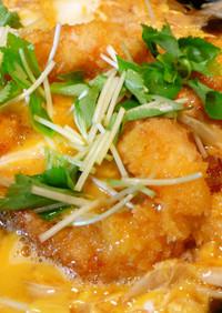 ご飯が美味しい♪海老カツ丼!