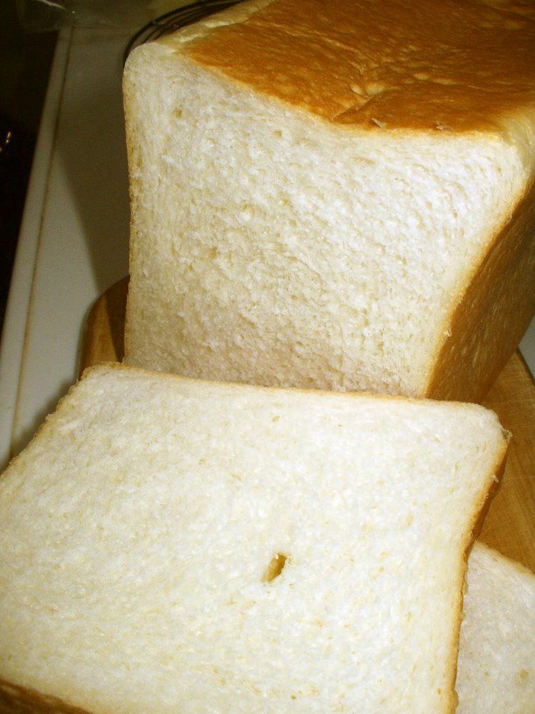 いつもの食パン(HB使用)&型のお手入れ