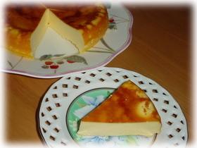 炊飯器で楽々出来るチーズケーキ~♪