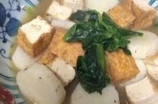長芋と厚揚の煮物