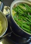 アイデア料理♥焼そばで塩ちゃんこ鍋