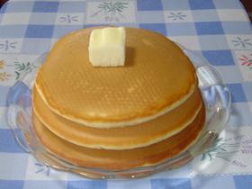 手作りHMで簡単♪ふわふわホットケーキ♡