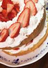 簡単!バースデーショートケーキ♪