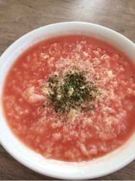 節約も♡スープジャーで簡単トマトリゾット
