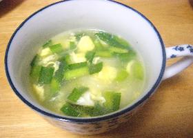 ニラ玉スープ(中華味)