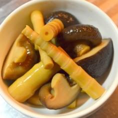 簡単!手抜き!姫竹と椎茸の煮物