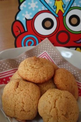 節分の残りで☆福豆クッキー