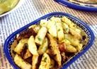 健康食材☆長芋と椎茸の青のり炒め