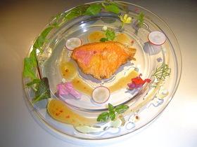 おいしい旬の金目鯛をホットサラダで!