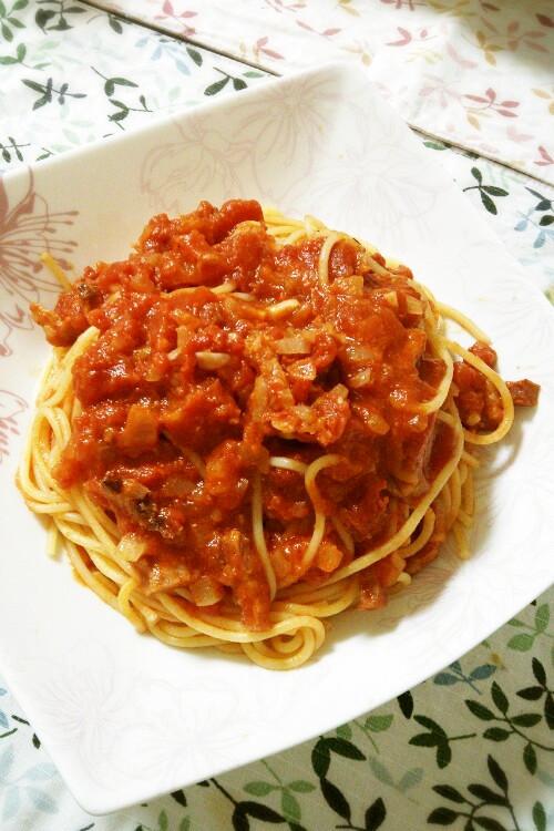 イタリアの味♡アマトリチャーナ