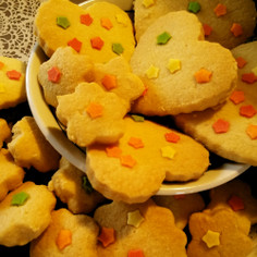 簡単なのにサックサク!型抜きクッキー!
