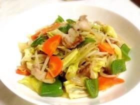 中華料理店風♪具だくさん野菜炒め☆