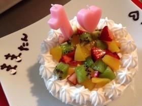一歳バースデーケーキ