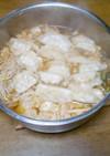 キムチ餃子スープ
