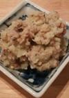 サンマ蒲焼缶のポテトサラダ