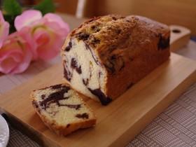 簡単ココアマーブルのパウンドケーキ