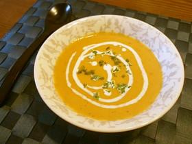 ◆レンジで簡単♡かぼちゃのポタージュ◆