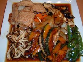 豚肉とたっぷり野菜の焼きびたし