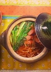 ぽっかぽかキムチスープ〜5分で食卓へ!〜