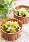 生姜風味がいい♡もやしと小松菜の和え物♡