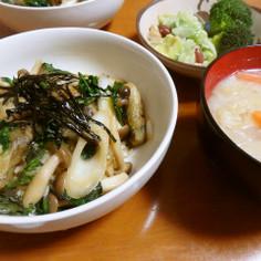 香り豊かな牡蠣丼