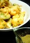 サクサクっ♪海老と枝豆の天ぷら