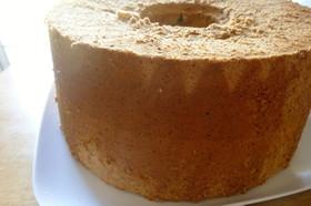 24cmの型で紅茶のシフォンケーキ