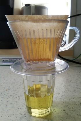 コーヒーフィルターで油こし by ...