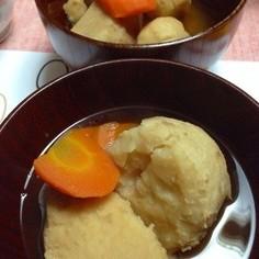 鶏肉と里芋とにんじんの煮物