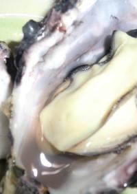 牡蠣屋さん直伝☆殻つき牡蠣の食べ方