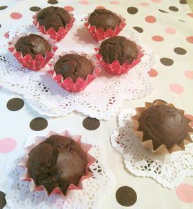 バレンタインに♡簡単チョコカップケーキ