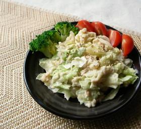 レタスとツナの軽めのポテトサラダ