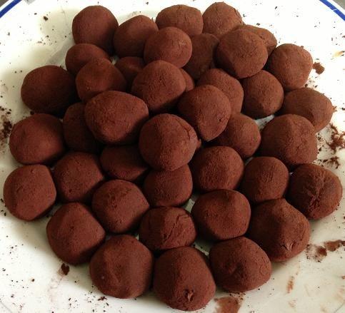 3つの材料で出来る♪簡単チョコトリュフ