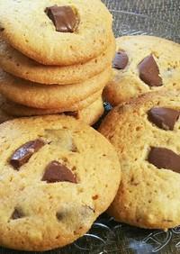 簡単♪バター香る*チョコチャンククッキー
