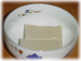 粉寒天でらくらく ごま豆腐~♪