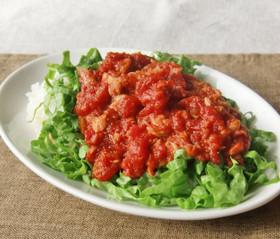 簡単!トマト缶&ツナ缶の濃厚甘辛丼