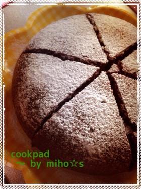 簡単♡卵なしチョコケーキ