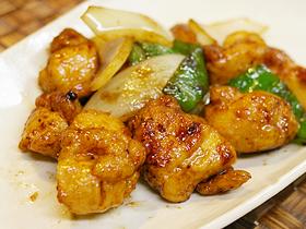 ★醤爆鶏丁~鶏肉の味噌炒め★