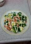 簡単!ブロッコリーとチーズウインナー炒め