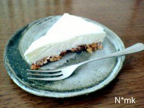 和風レアチーズケーキ