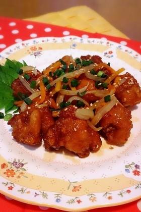 鶏もも肉の南蛮漬け~中華風☆
