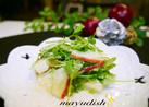 リンゴ&セロリの葉deちょこっとサラダ