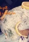 塩釜の香草オレンジチキングリル