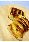 【ノンオイルフライヤー】干し芋りんごパイ