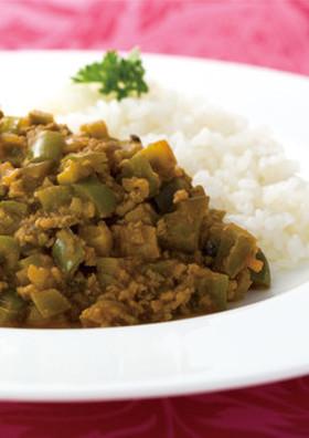 カレー粉で作る野菜のキーマカレー