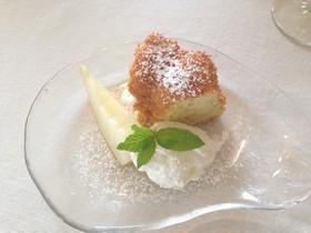 バナナカモミールシフォンケーキ